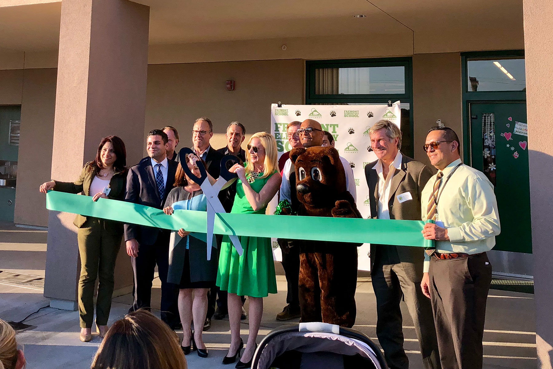 Fremont Elementary School Measure S Ribbon Cutting Ceremony February 2018