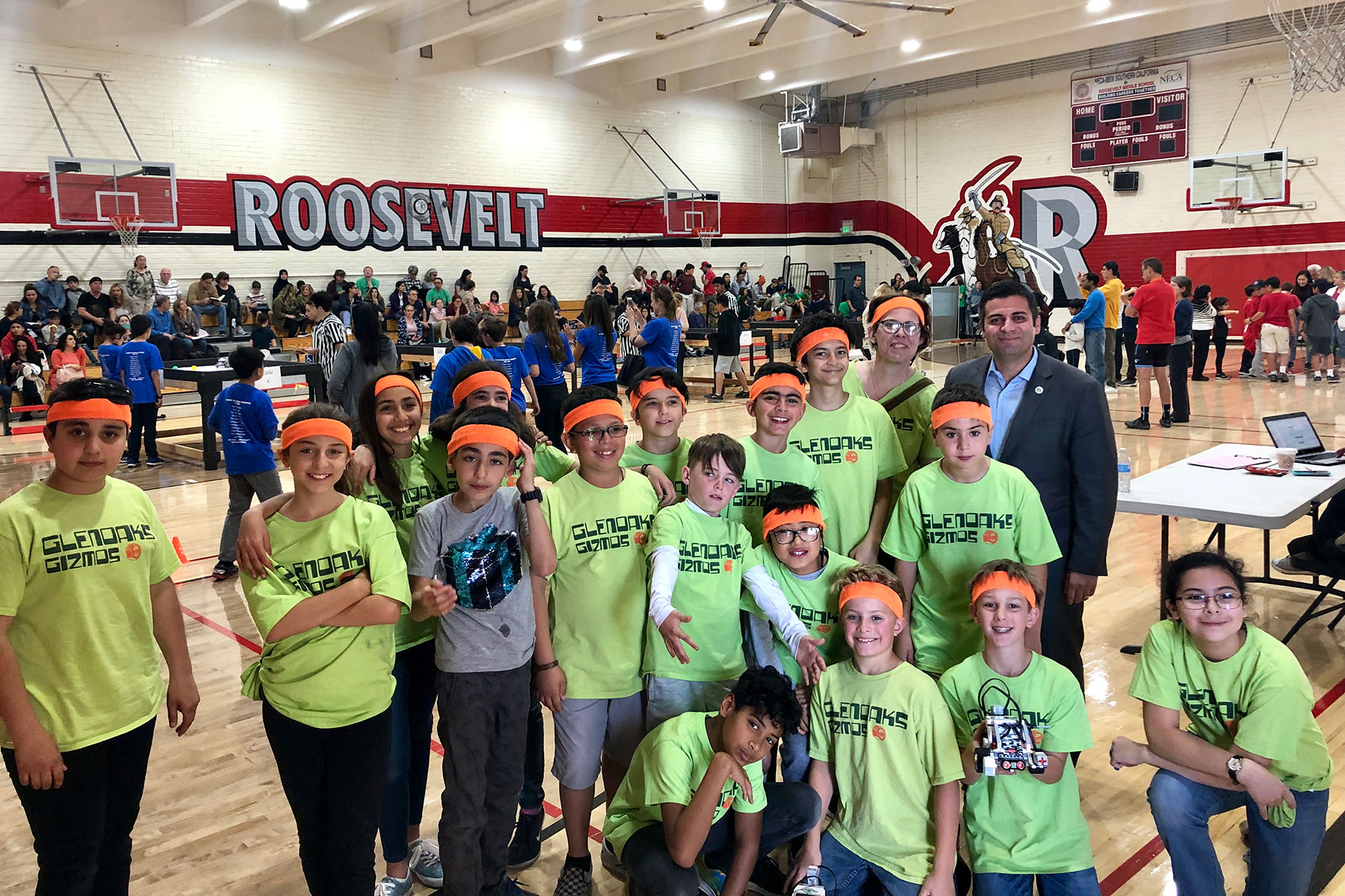 GUSD Elementary School Robotics Tournament 2019