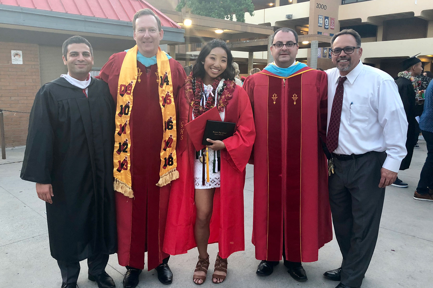 Glendale High School Graduation Ceremony June 2018