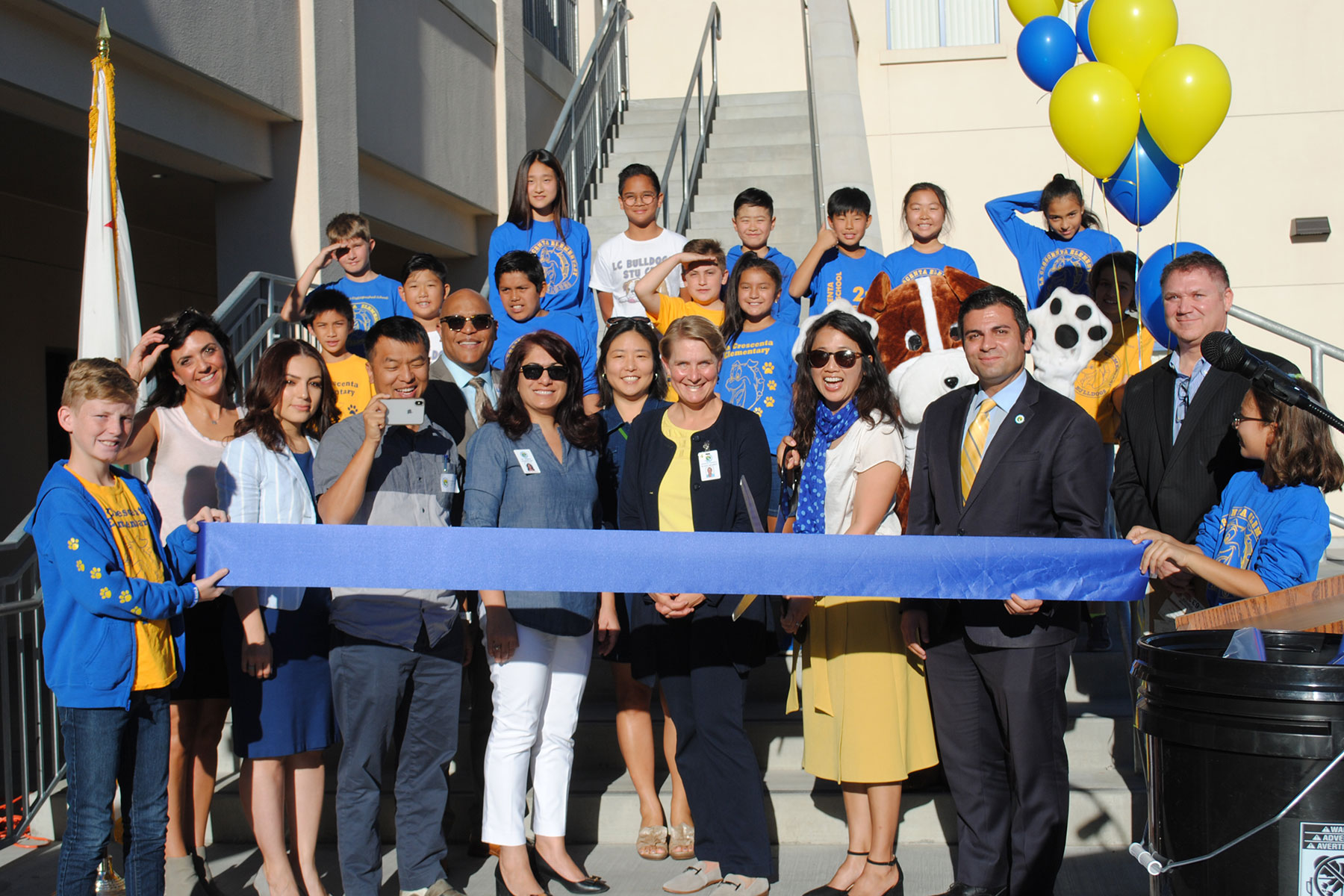 La Crescenta Elementary School Measure S Ribbon Cutting Ceremony November 2018
