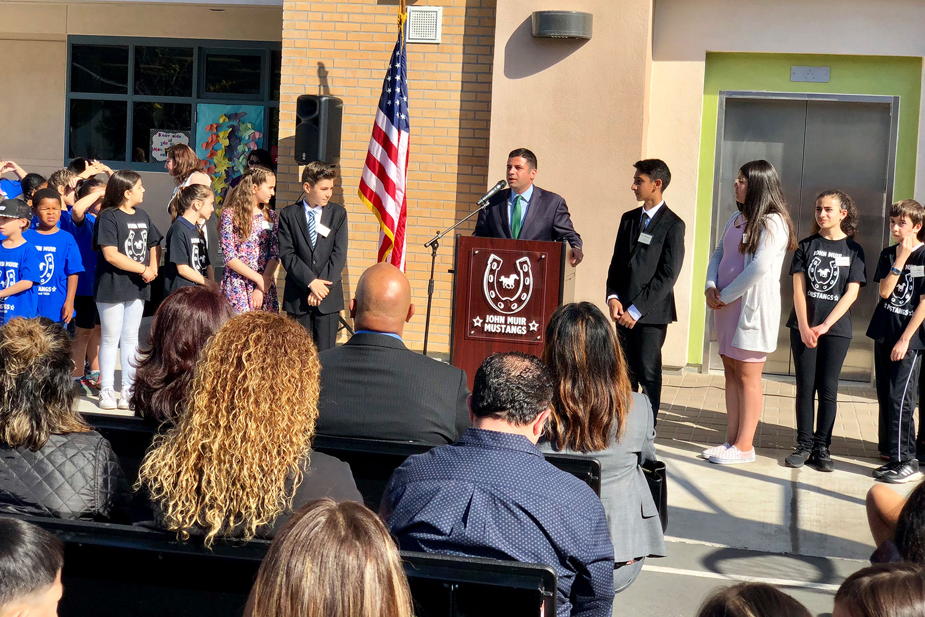 Muir Elementary School Measure S Ribbon Cutting Ceremony April 2018